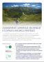 Changement climatique, recherche et espaces naturels protégés